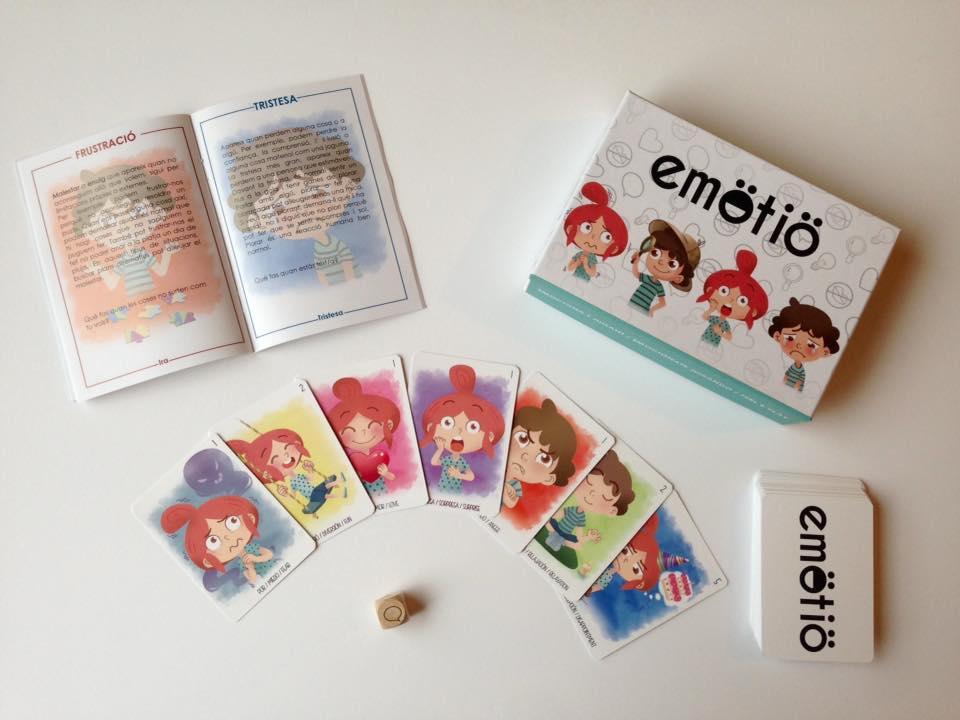juego emotio cartas - educacion emocional