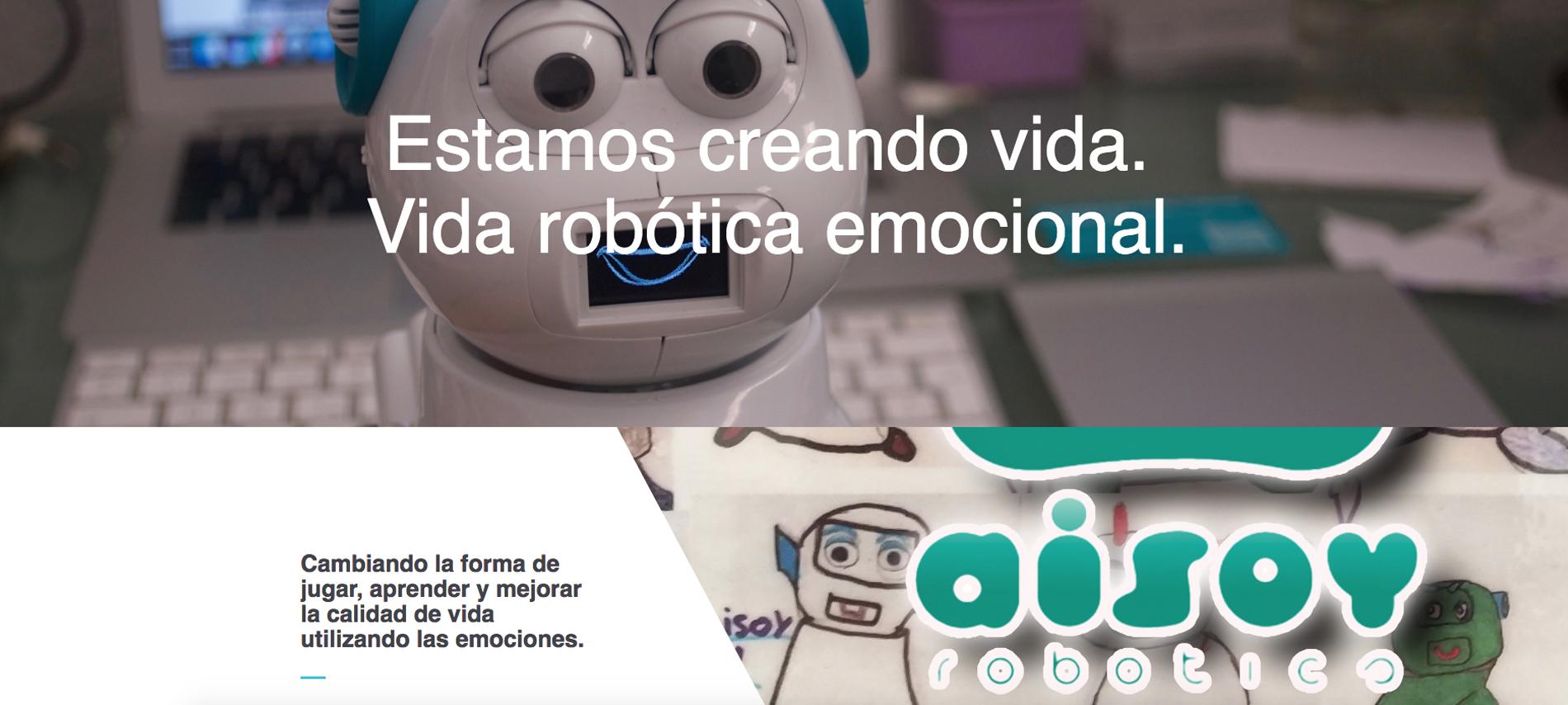 Aisoy social robot