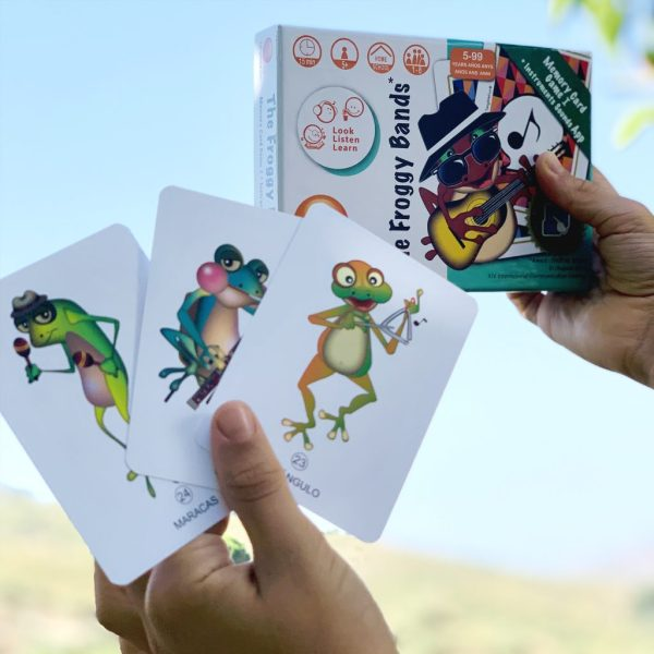 Froggy Bands juegos de mesa musica