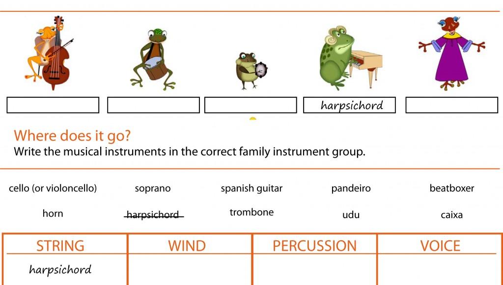 Recursos Musicales Vocabulario En Inglés Y Español Tangiblefun