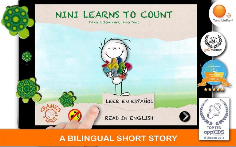 Short stories, learn to count